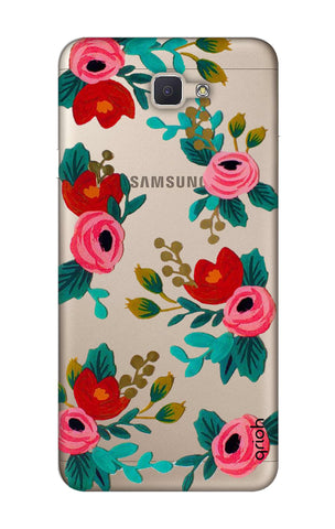 Red Floral Samsung ON NXT Cases & Covers Online