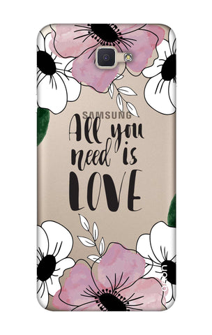 All You Need is Love Samsung ON NXT Cases & Covers Online