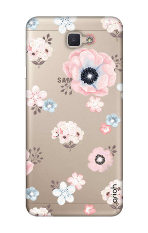 Beautiful White Floral Samsung ON NXT Cases & Covers Online