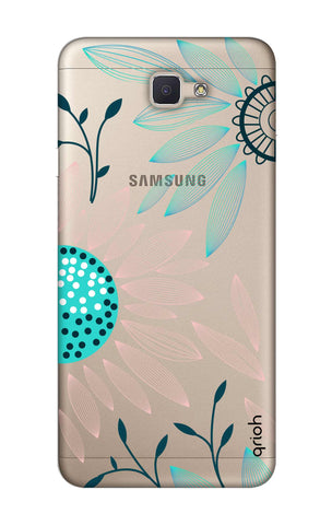 Pink And Blue Petals Samsung ON NXT Cases & Covers Online