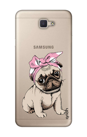 Pink Puggy Samsung ON7 Prime Cases & Covers Online