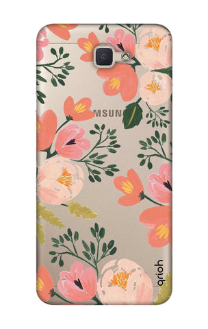 Painted Flora Samsung ON7 Prime Cases & Covers Online
