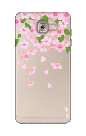 Pretty Pink Floral Samsung ON Max Cases & Covers Online