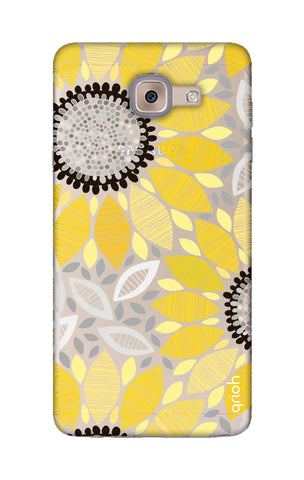 Stitched Floral Samsung ON Max Cases & Covers Online