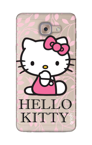 Hello Kitty Floral Samsung ON Max Cases & Covers Online