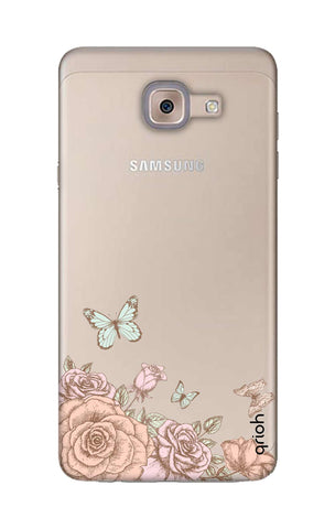Flower And Butterfly Samsung ON Max Cases & Covers Online