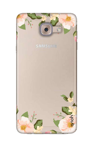 Flower In Corner Samsung ON Max Cases & Covers Online