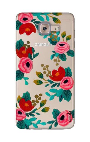 Red Floral Samsung ON Max Cases & Covers Online