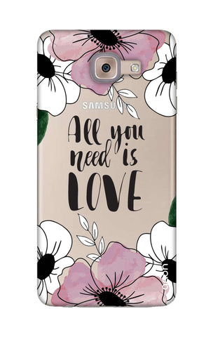 All You Need is Love Samsung ON Max Cases & Covers Online