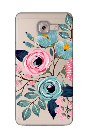 Pink And Blue Floral Samsung ON Max Cases & Covers Online