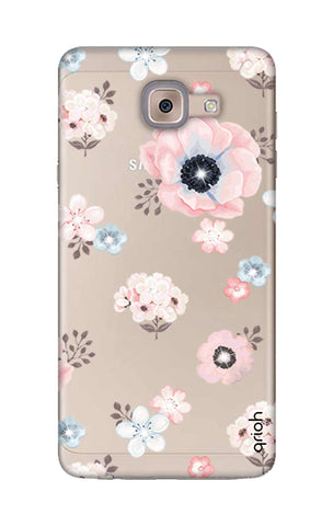 Beautiful White Floral Samsung ON Max Cases & Covers Online