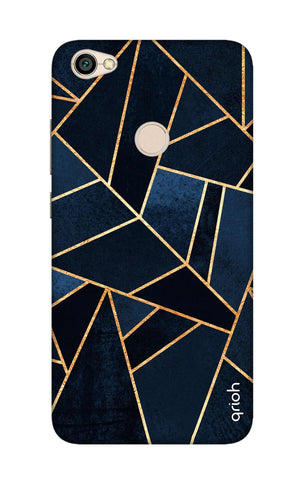 Abstract Navy Xiaomi RedMi Y1 Cases & Covers Online