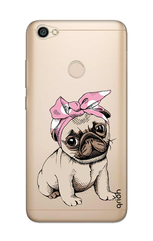 Pink Puggy Xiaomi RedMi Y1 Cases & Covers Online