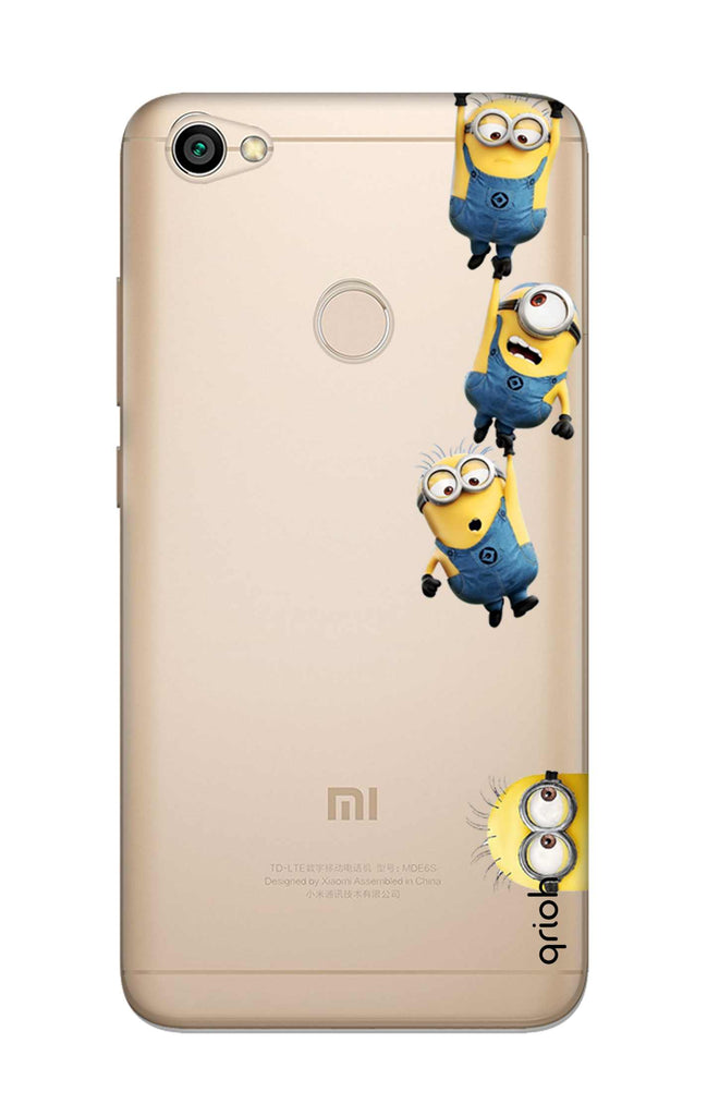 best loved ff273 4cdd8 Falling Minions Case for Xiaomi RedMi Y1