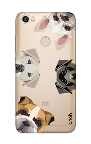 Geometric Dogs Xiaomi RedMi Y1 Cases & Covers Online