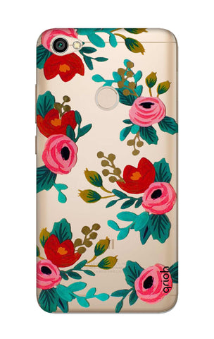 Red Floral Xiaomi RedMi Y1 Cases & Covers Online