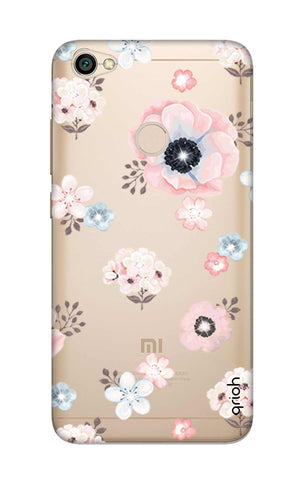 Beautiful White Floral Xiaomi RedMi Y1 Cases & Covers Online