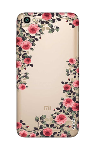 online store ad007 c4ad8 Floral French Case for Xiaomi RedMi Y1 Lite