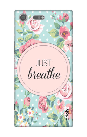 Vintage Just Breathe Sony Xperia XZ Premium Cases & Covers Online