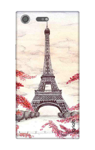 Eiffel Art Sony Xperia XZ Premium Cases & Covers Online