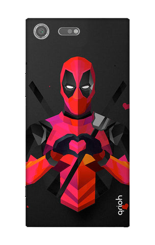 Valentine Deadpool Sony Xperia XZ Premium Cases & Covers Online
