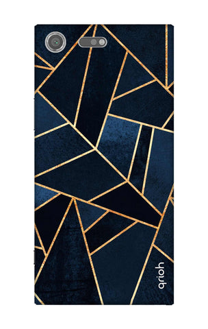 Abstract Navy Sony Xperia XZ Premium Cases & Covers Online