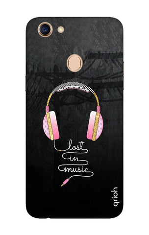 Lost In Music Oppo F5 Cases & Covers Online