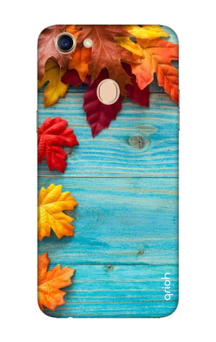 Fall Into Autumn Oppo F5 Cases & Covers Online