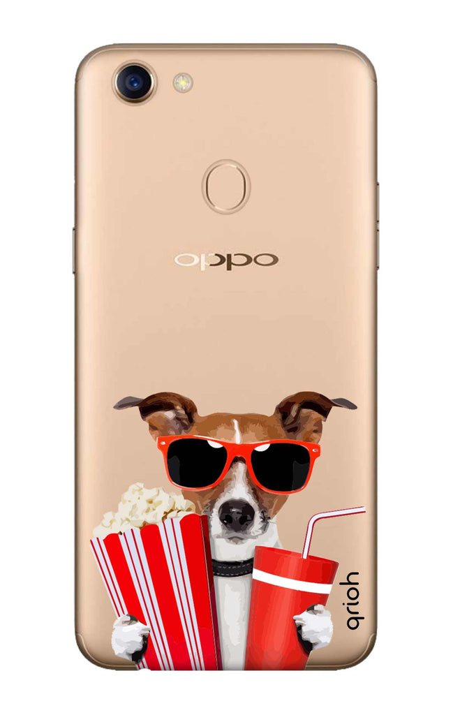 detailed look 4b7e3 3ad22 Dog Watching 3D Movie Case for Oppo F5