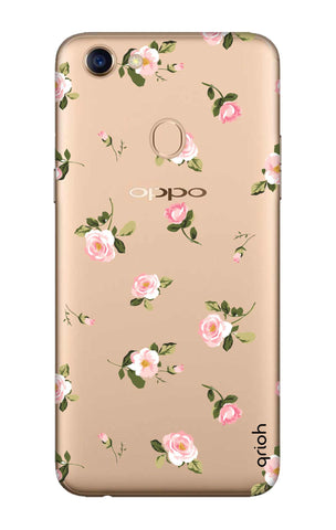 Pink Rose All Over Oppo F5 Cases & Covers Online