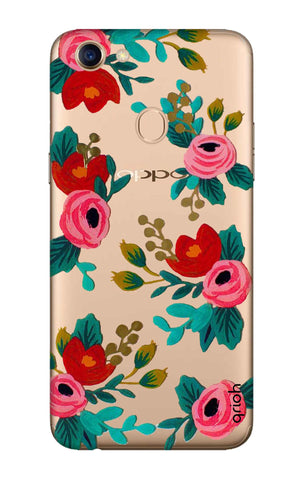 Red Floral Oppo F5 Cases & Covers Online