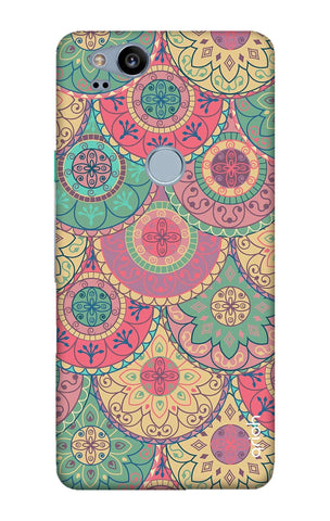 Colorful Mandala Google Pixel 2 Cases & Covers Online
