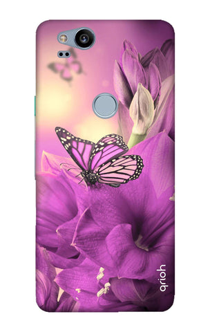 Purple Butterfly Google Pixel 2 Cases & Covers Online