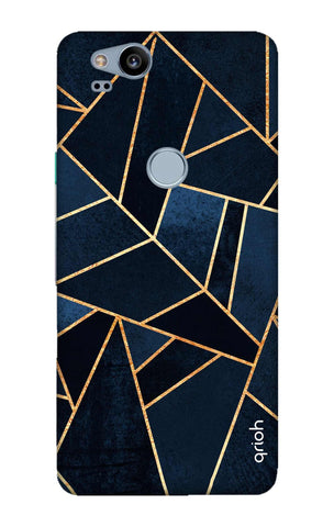 Abstract Navy Google Pixel 2 Cases & Covers Online