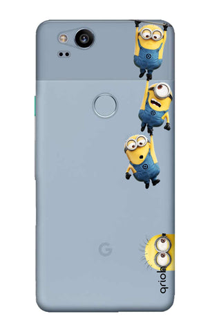 Falling Minions Google Pixel 2 Cases & Covers Online