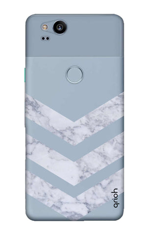 Marble Chevron Google Pixel 2 Cases & Covers Online