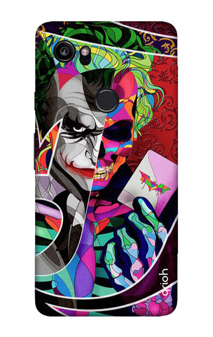 Color Pop Joker Google Pixel 2 XL Cases & Covers Online