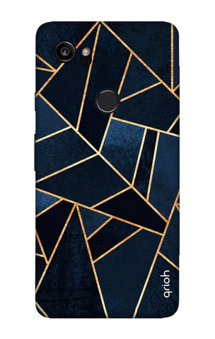 Abstract Navy Google Pixel 2 XL Cases & Covers Online