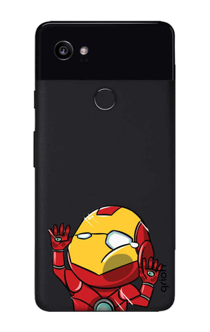 Iron Man Wall Bump Google Pixel 2 XL Cases & Covers Online