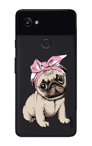 Pink Puggy Google Pixel 2 XL Cases & Covers Online