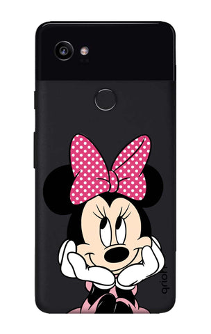 Minnie In Deep Thinking Google Pixel 2 XL Cases & Covers Online