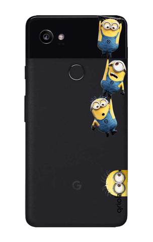 Falling Minions Google Pixel 2 XL Cases & Covers Online