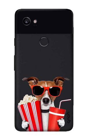 Dog Watching 3D Movie Google Pixel 2 XL Cases & Covers Online