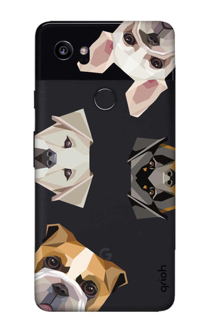 Geometric Dogs Google Pixel 2 XL Cases & Covers Online