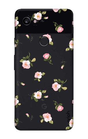 Pink Rose All Over Google Pixel 2 XL Cases & Covers Online