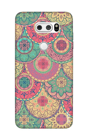Colorful Mandala LG V30 Cases & Covers Online
