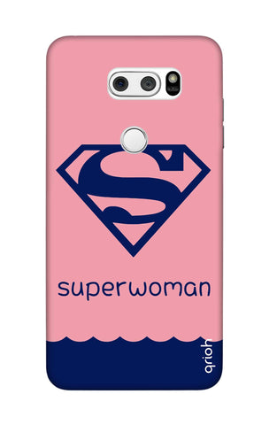 Be a Superwoman LG V30 Cases & Covers Online