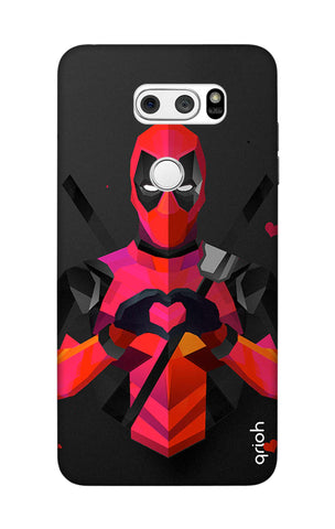 Valentine Deadpool LG V30 Cases & Covers Online