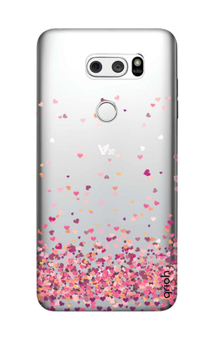 Cluster Of Hearts LG V30 Cases & Covers Online