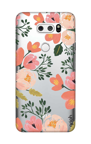 Painted Flora LG V30 Cases & Covers Online